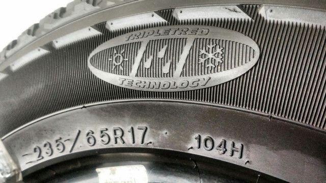Pneu 235/65R17 104H Goodyear Fortera semi-novo / usado - Foto 4