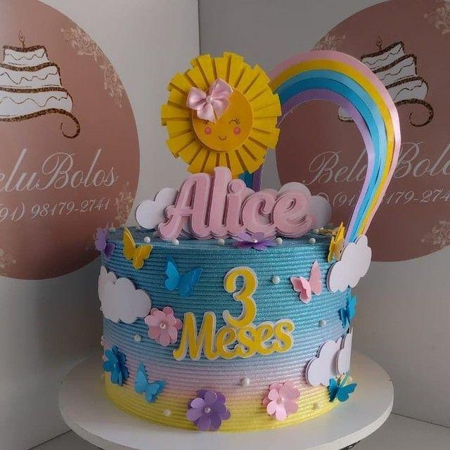 Comemore  uma ocasião ou presenteie alguém querido com esses lindos bolos temáticos - Foto 2