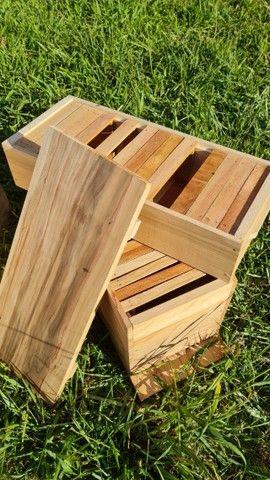 Caixa de criação de abelha. Apicultura. - Foto 4