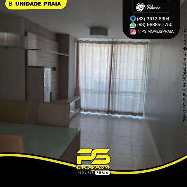 Apartamento com 3 dormitórios para alugar, 78 m² por R$ 3.500,00/mês - Tambaú - João Pesso - Foto 9