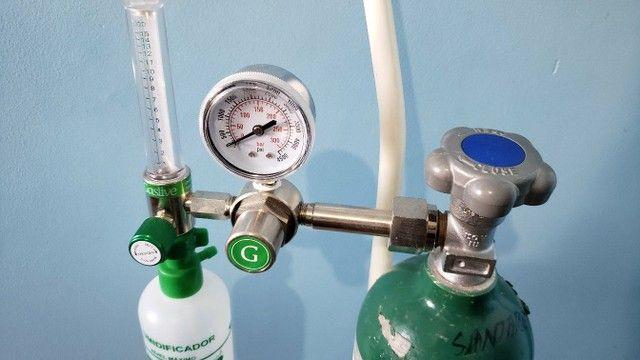 Manômetro de oxigênio  - Foto 3
