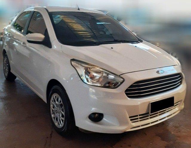 Ford Ka+ SE Sedan 1.5 2018, Branco, Manual
