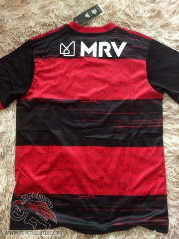 Queima de Estoque Camisa Flamengo 1 2020 Personalize Grátis! - Foto 3
