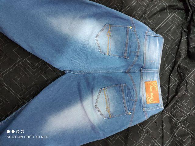 Calça jeans tamanho 44  - Foto 2