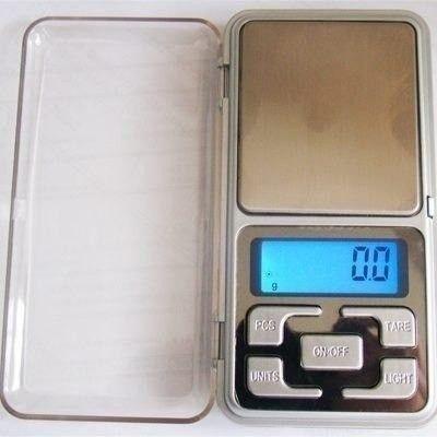 Mini Balança De Precisão 500g