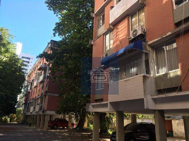 Apartamento com 4 dormitórios para alugar, 200 m² por R$ 1.900,00/mês - Boa Viagem - Recif - Foto 13
