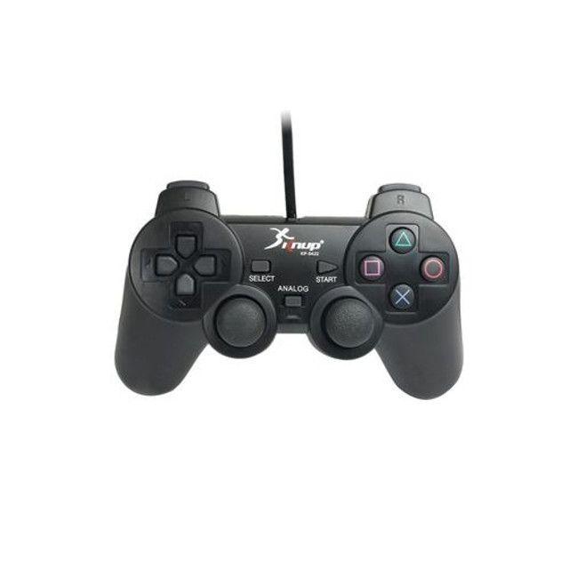 Controle Manete joystick sem fio Wireless Playstation 3 Play3 Play 3  - Foto 4