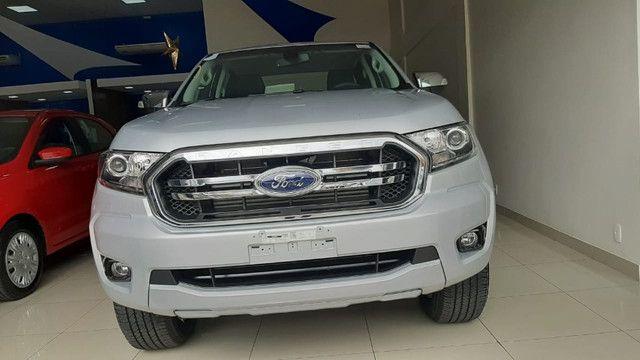 Ford Ranger XLT 3.2 Diesel 4x4 AT 2022 - garantimos seu carro. - Foto 4