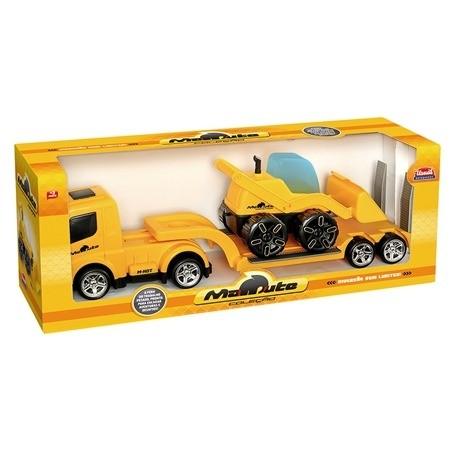 Caminhão Mamute Prancha Carregadeira - Usual Brinquedos