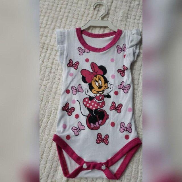 Bodys personalizados Infantis de Algodão com Elastano! - Foto 2