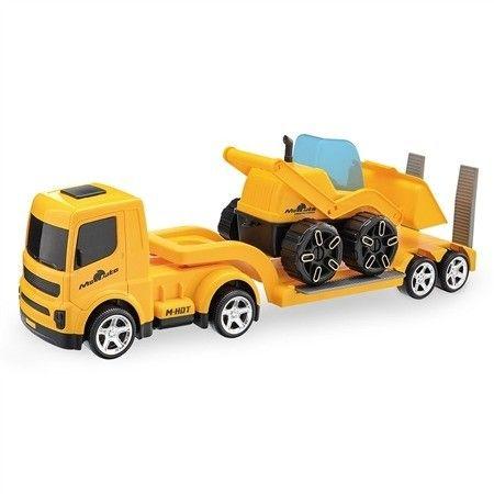 Caminhão Mamute Prancha Carregadeira - Usual Brinquedos - Foto 2