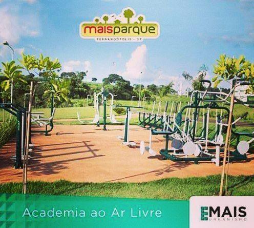 Terrenos c/ loteadora no Mais Parque Fernandópolis
