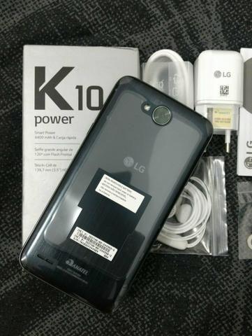 LG K10 Power 32gb Tela 5.5 Bateria 4100Mah