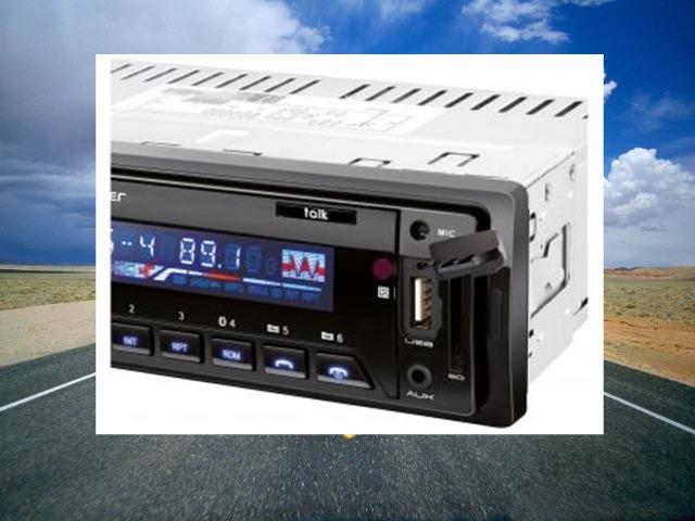 Som Automotivo Multilaser Auto Rádio Talk - Bluetooth MP3 Player Rádio FM sem cartão