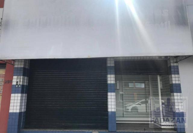 Loja para alugar, 74 m² por r$ 2.850,00/mês - pinheirinho - curitiba/pr