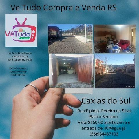 Vendo casa em Caxias do Sul rs