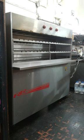 Máquina de churrasco à gás. - Foto 3