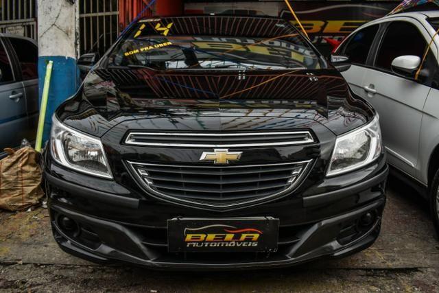Chevrolet Prisma LT Completo Flex Mec. + GNV + 2019 Vist - Foto 2