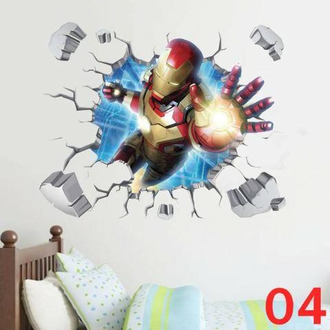 Adesivo Grande Vingadores Marvel! - Foto 2