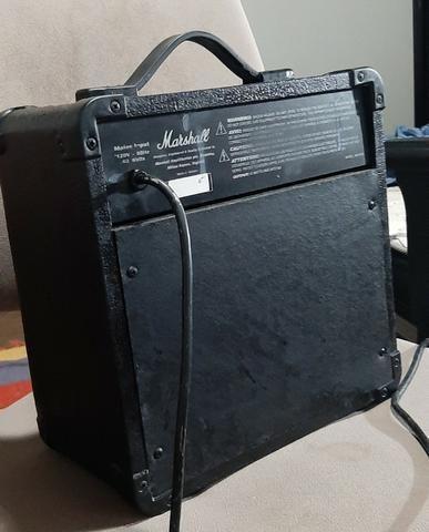 Cubo caixa amplificada Marshal MG 10 CD Troco por cubo de baixo e volto a diferença - Foto 4