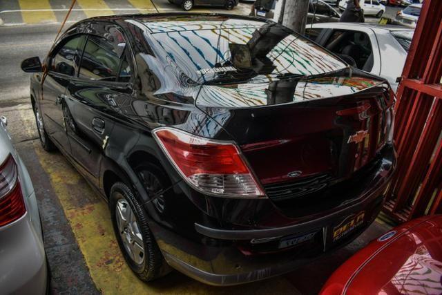 Chevrolet Prisma LT Completo Flex Mec. + GNV + 2019 Vist - Foto 4