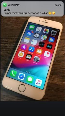 IPhone 6 64 gb Prata Sem Detalhes touch id desativado - Foto 2
