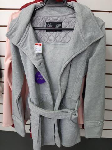 Lindas blusas sobretudo, casaco, jaqueta na promoção para o dia a dia - Foto 5