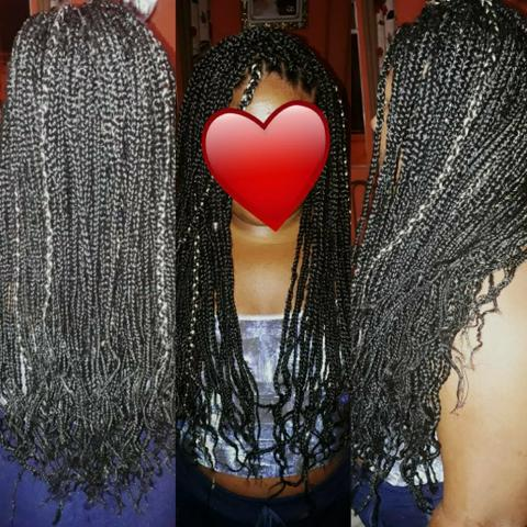 Tranças, dreads, box braids, mega hair etc - Foto 6