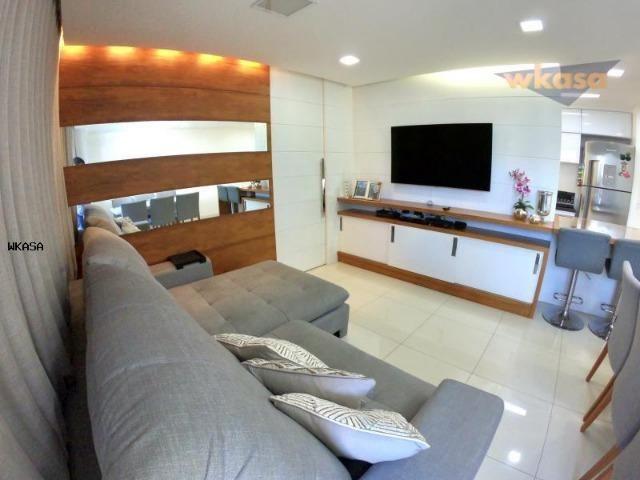 Apartamento 3 Quartos sendo 1 suíte, sol da manha - WK526