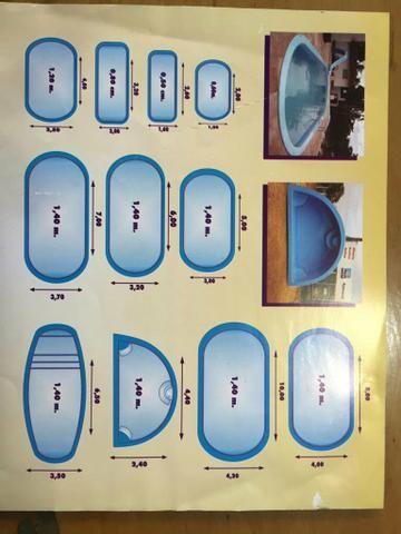 Piscina 4 x 2 x 1,15 - R $ 9.500,00 à vista - Foto 4