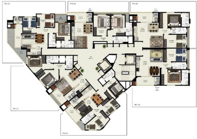 Apartamento 1 suíte + 1 dorm em Itapema por apenas R$ 365.000,00 - Foto 3