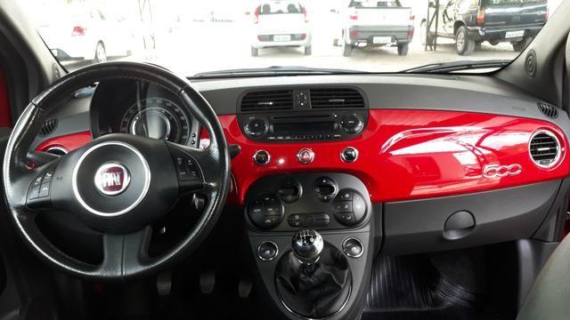 Fiat 500 sport air 2012 completo - Foto 10