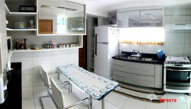 AP0967 Torre Espanha, apartamento na Aldeota, 3 suítes, móveis projetados, 2 vagas - Foto 9