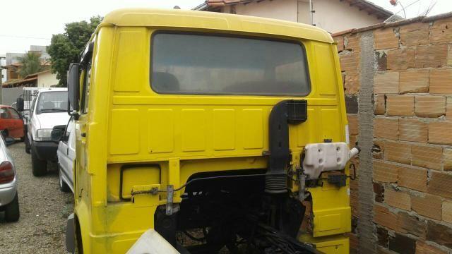 Vw * 8140 cabine completa caixa direcao hidraulica cabine f4000 f1000 - Foto 4
