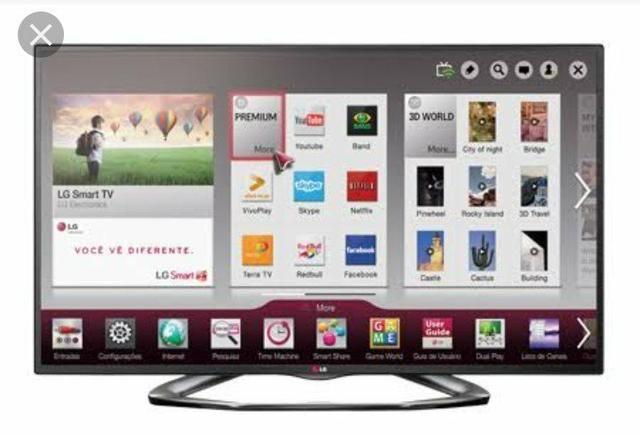 96d27d936 TV LG LED SMART 47 polegadas com garantia - Áudio