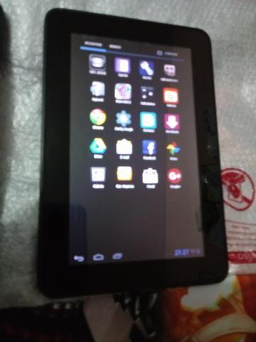 Tablet Tablet Alcatel Evo 7 cor preto 4GB conexão 3G Wi-Fi bluetooth tela  de 7