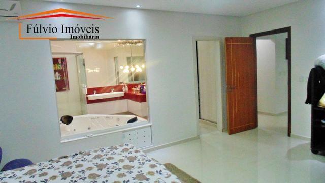 Magnífico sobrado moderno de alto padrão, 4 suítes, completo em armário e salão gourmet - Foto 11
