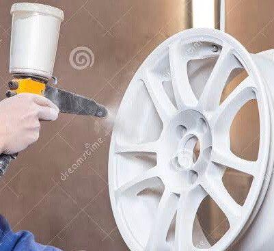 Vaga para pintor de rodas automotivas