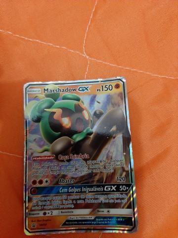 Carta Pokémon marshadow gx