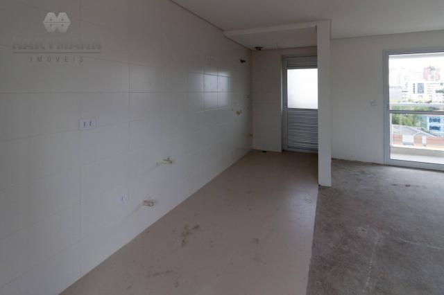 Apartamento com 3 dormitórios à venda por R$ 518.500,00 - Mercês - Curitiba/PR - Foto 4