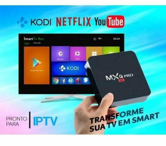 Smart box tv android 4GB RAM 32 armazenamento