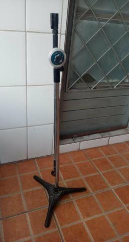 Pedestal para 2 microfones - Foto 2