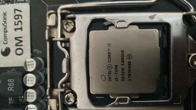 Kit i5 7400 + h110m-c/br - Foto 2