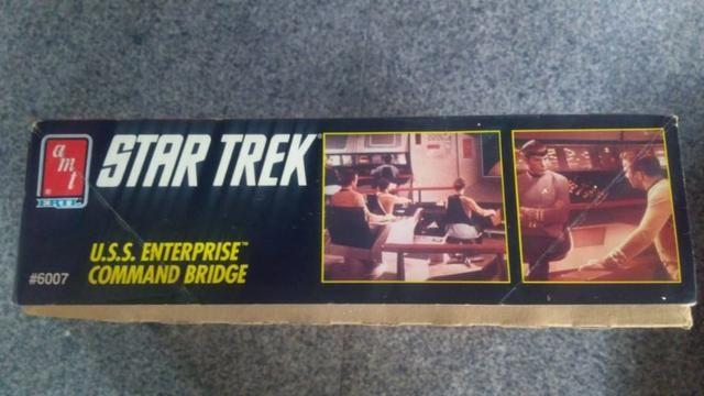 Star Trek Amt Ertl U.s.s. Enterprise Command Bridge Model - Foto 6