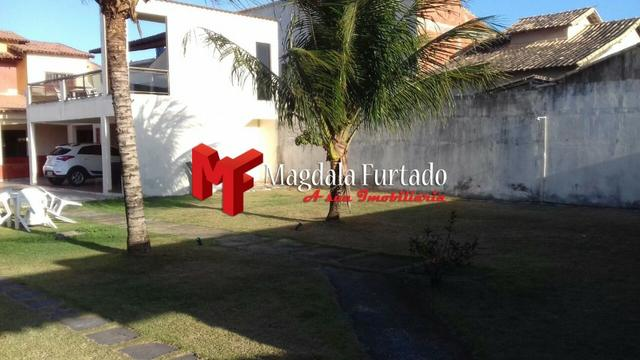 4036 - Casa área externa gramada, 4 quartos para sua moradia em Unamar - Foto 17