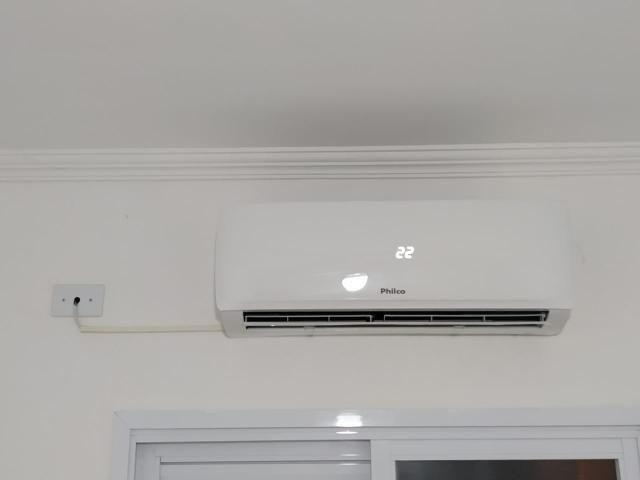 Instalação ar condicionado 290$