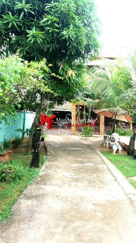 4028 - Casa de 4 quartos, área gourmet e fogão a lenha, total conforto Unamar - Foto 20