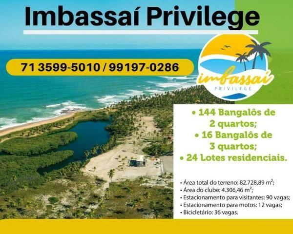 Imbassaí Privilege - Casa de praia e bangalôs de 2 e 3 quartos à beira mar