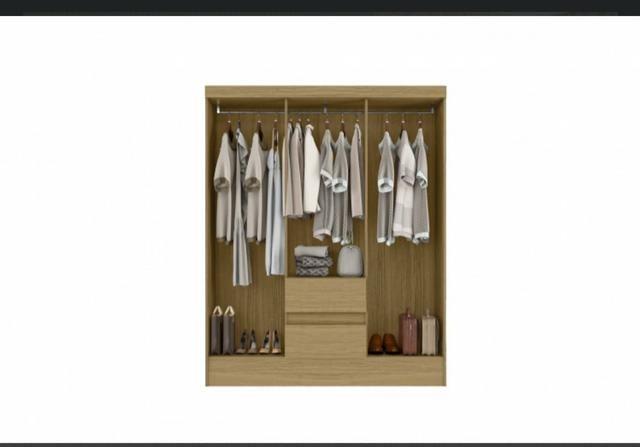 Promoção guarda-roupa 6 portas aramoveis Novo entrega grátis - Foto 3
