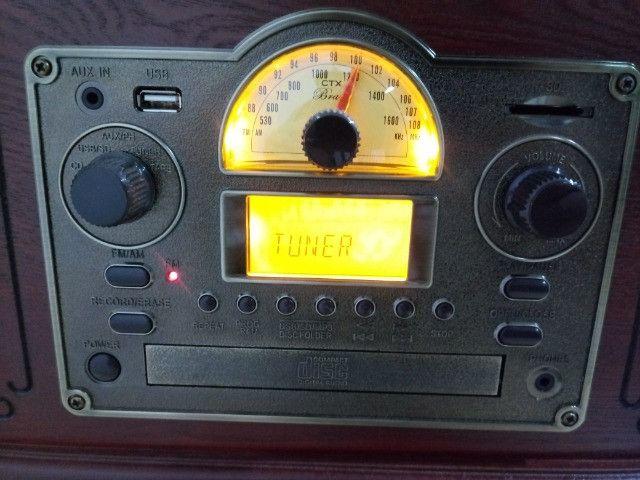 Toca-discos CTX Bravo 7 em 1 - Foto 6